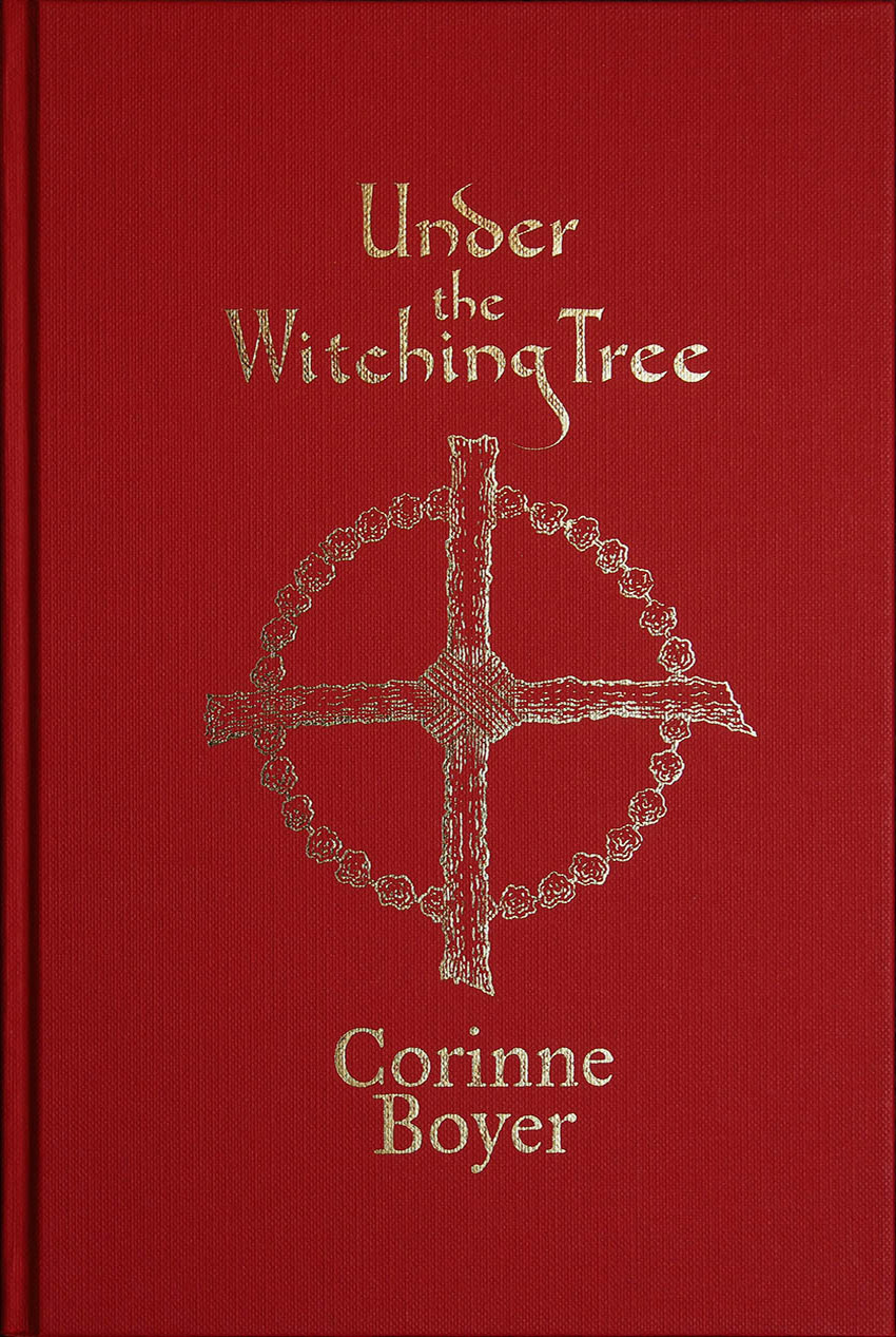 Under the Witching Tree by Corinne Boyer - Standard Hardback Edition cover