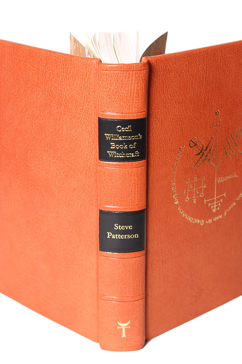 Cecil Williamsons Book of Witchcraft by Steve Patterson - Special Fine Edition spine
