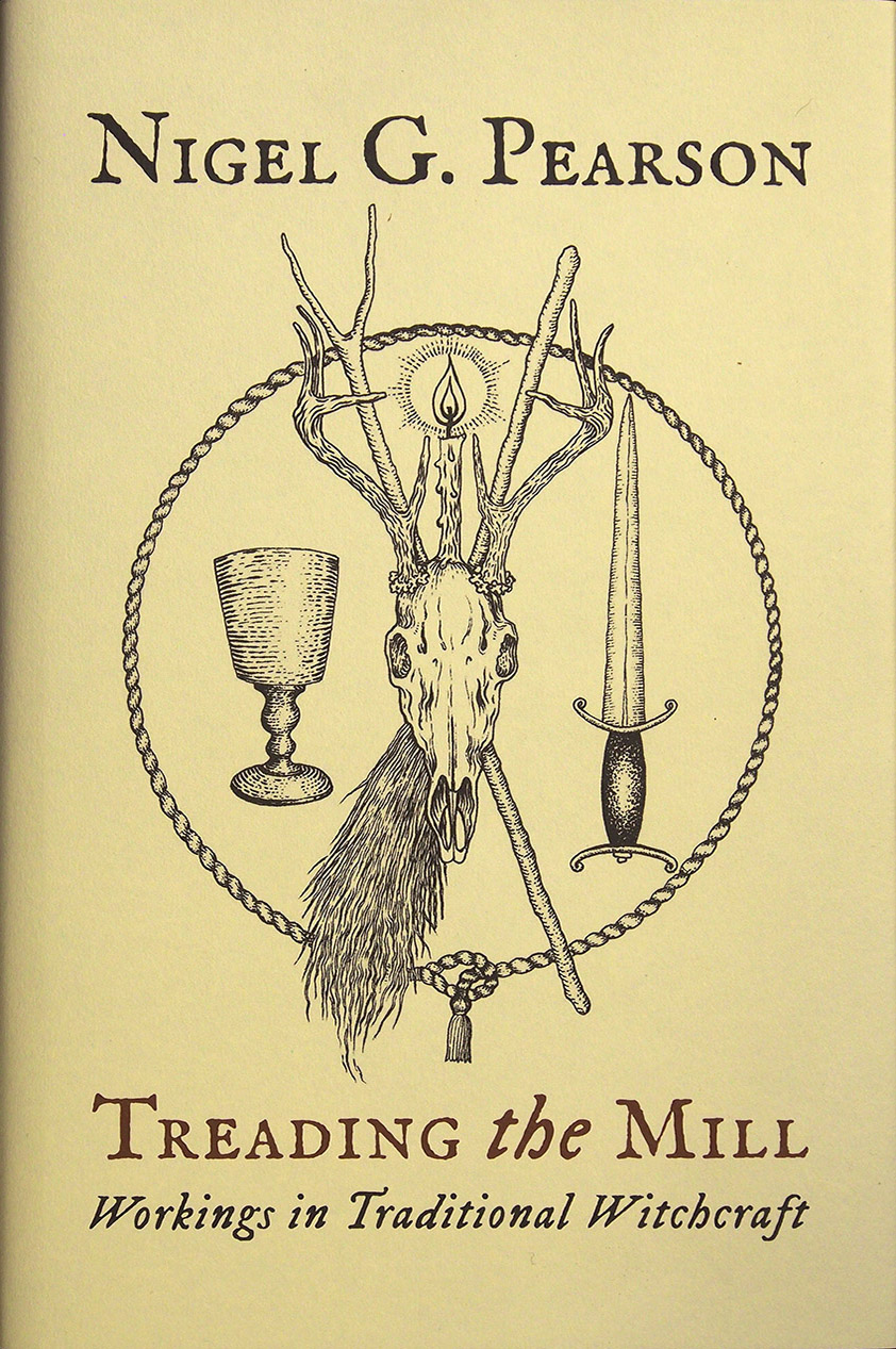 Treading the Mill by Nigel G. Pearson - Standard Hardback Edition cover