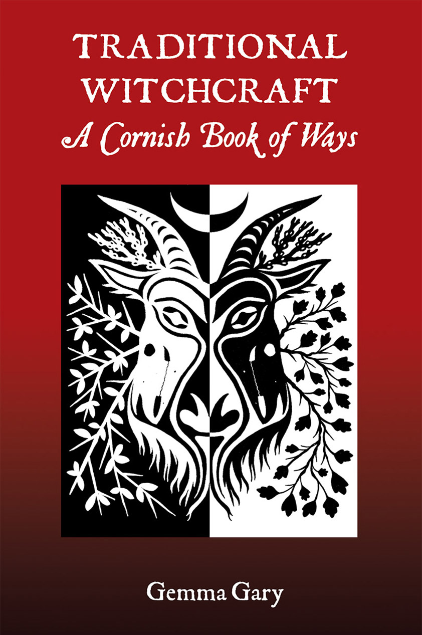 Traditional Witchcraft a Cornish Book of Ways by Gemma Gary Paperback Edition cover
