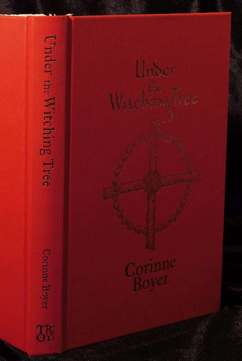 Under the Witching Tree by Corinne Boyer - Standard Hardback Edition cover and spine