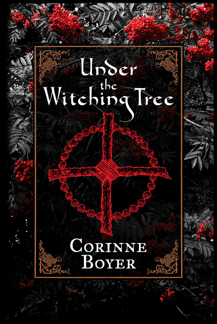 Under the Witching Tree by Corinne Boyer - Paperback Edition cover
