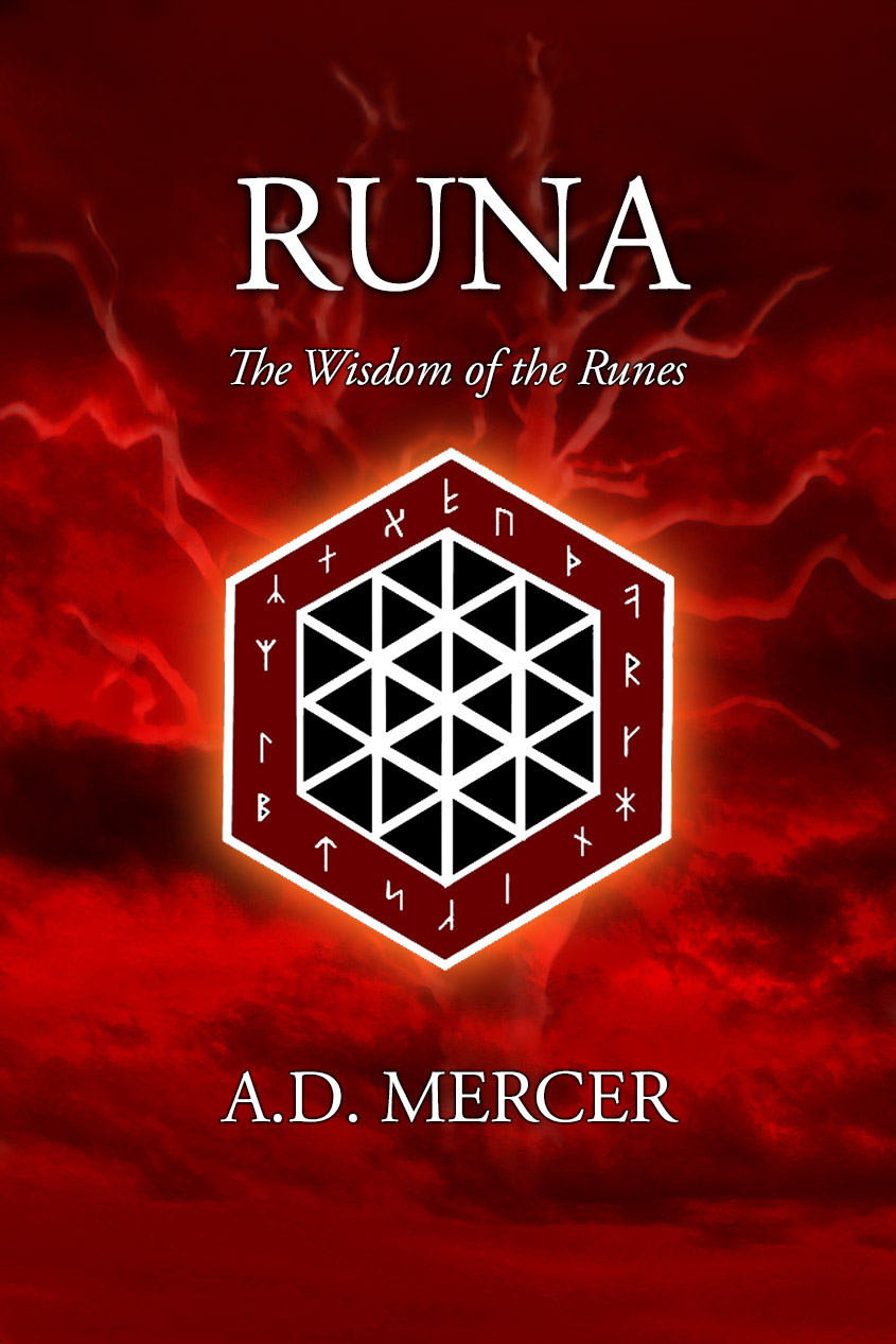 Runa - The Wisdom of the Runes - paperback cover