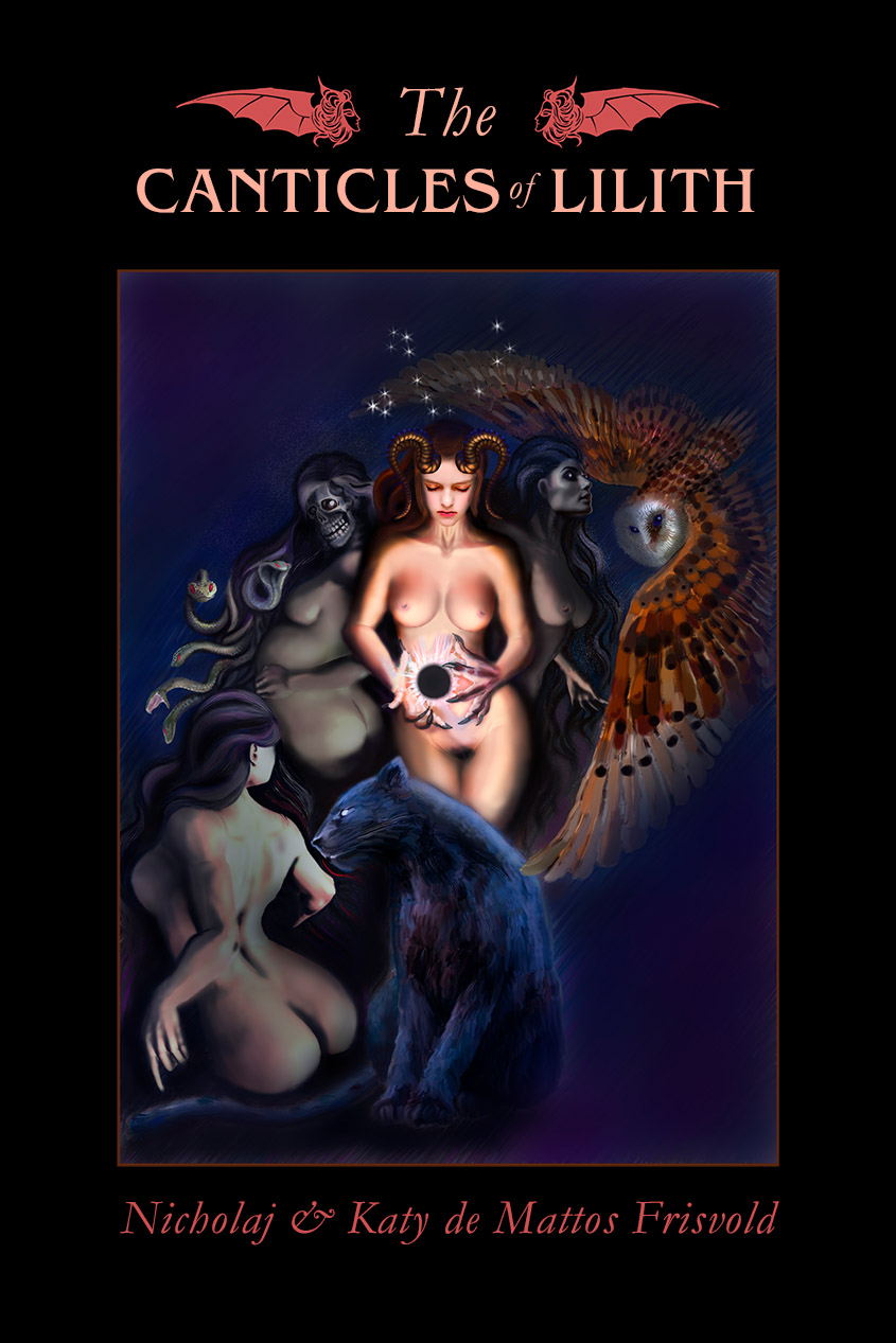 The Canticles of Lilith - Paperback cover